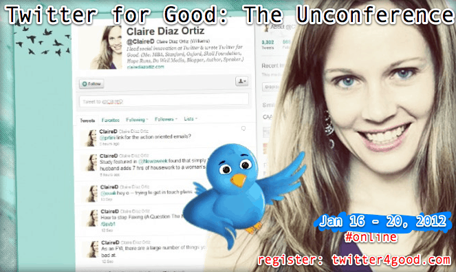 Are You Signed Up for the Twitter for Good Unconference?