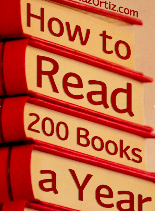 How I Read 200 Books a Year