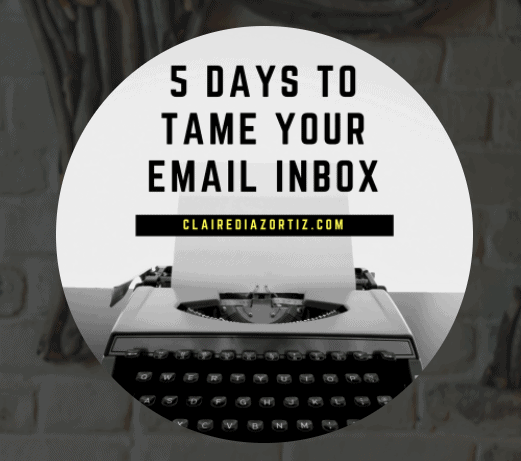 Is Your Email Inbox Out of Control? A Free Five-Day Challenge!