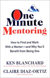 One-Minute-Mentoring Book Cover